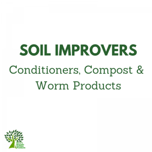 Soil Improvers, Conditioners, Compost and Worm Products