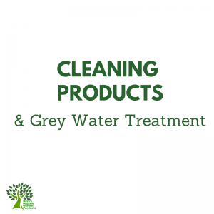 Cleaning Products and Grey Water Treatment